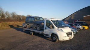 car transport land rover recovery