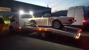 car transport for night recovery