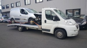 van crash recovery
